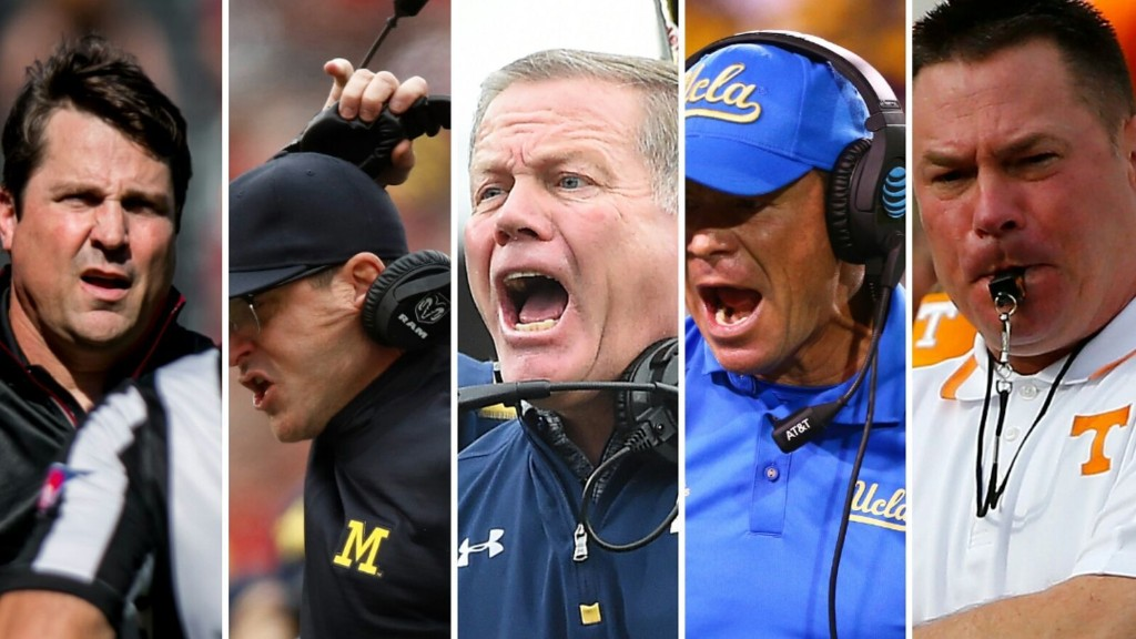 Who'll be the first coach to get ejected?