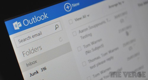Outlook.com updated with improved mail filtering and in-line replies