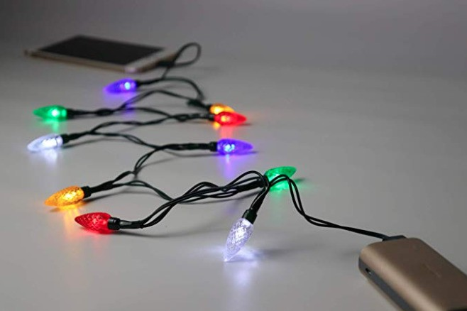 All I want for Christmas is this string light phone charger