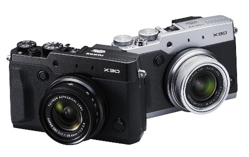 Fujifilm's high-end X30 compact adds an electronic viewfinder and tilting screen