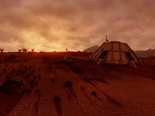 Pilot a space rover on a mysterious planet with 'Extrasolar'