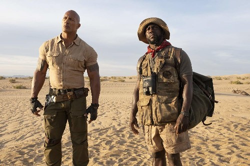 Jumanji: The Next Level is a body-swapping delight