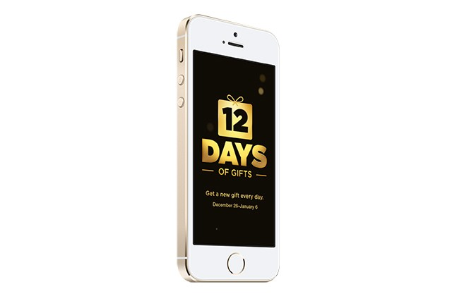 Apple's '12 Days of Gifts' giveaway coming to US for the first time