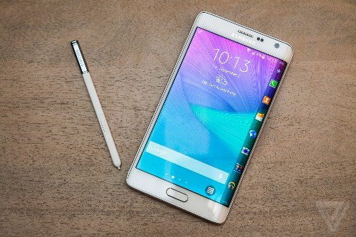 The Galaxy Note Edge is a flagship phone with an entirely new kind of curved display