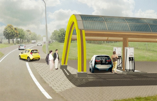Every Dutch citizen will live within 31 miles of an electric vehicle charging station by 2015