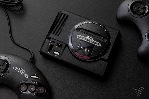The Sega Genesis Mini builds on what made Nintendo's tiny consoles great