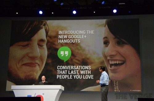 Google unveils Hangouts: a unified messaging system for Android, iOS, and Chrome