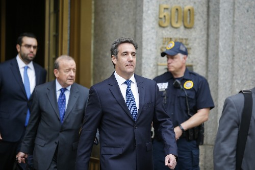 Michael Cohen's letter of resignation from the RNC is weird for many reasons