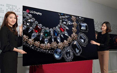 LG kicks off CES's giant, expensive TV race with an 88-inch 8K OLED display