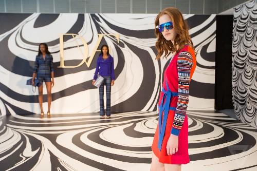 See a fashion icon take on Google Glass