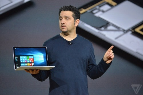 Microsoft announces Surface Book laptop with 13.5-inch display starting at $1,499