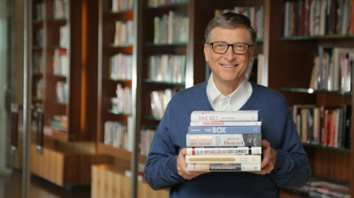 Bill Gates' favorite books of 2013 point to a better future for the world