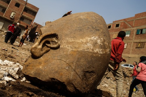 Archaeologists discovered a massive statue of one of Egypt's greatest rulers