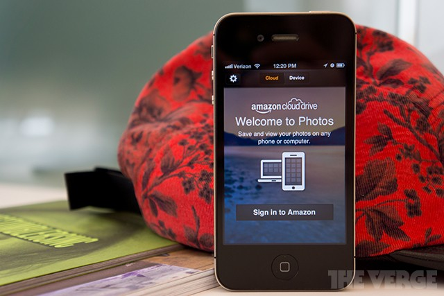 Amazon launches cloud photo storage app for iPhone