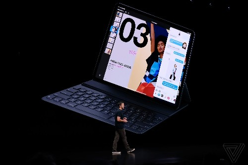 Apple's new iPad Pro keyboard magnetically attaches and includes two angles