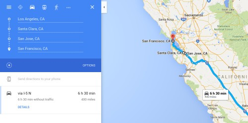 Google Maps for iOS now supports multiple destinations