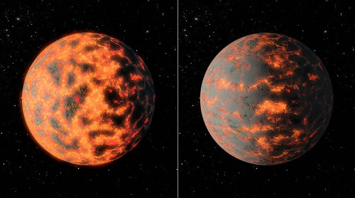 Distant super-Earth found to have hot nights and scorching days