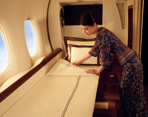 Airlines battle for the poshest, most luxurious first class cabins