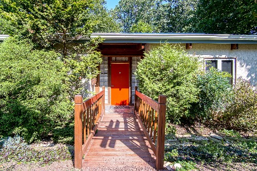 Chestnut Hill home hides away on Wissahickon's edge, asks $720K