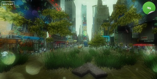 Google Street View hack turns your city into a post-apocalyptic jungle