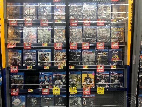 Walmart denies report that it's taking violent video games off shelves
