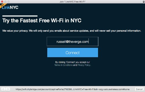 New York's first public Wi-Fi hubs are now live