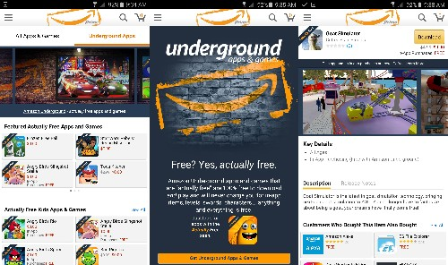 Amazon is shutting down Underground, its free Android app program