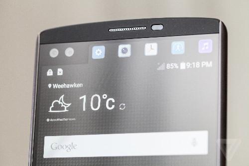 Up close with LG's dual-screen, dual-selfie camera phone
