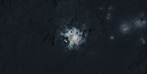 NASA images show Ceres' brightest spot in spectacular detail
