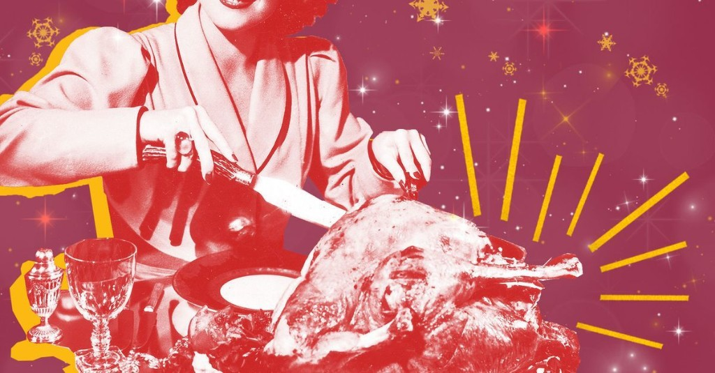 How to Make a Small but Mighty Holiday Feast That'll Fit on Your Coffee Table