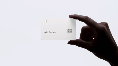 The Apple Card is a perfect example of Apple's post-iPhone strategy