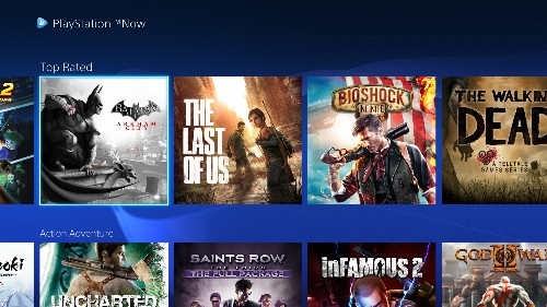 Sony just rolled out a big UI update to its PS Now game streaming service