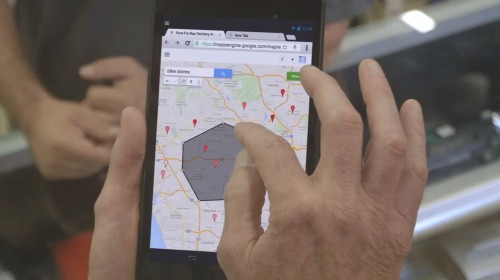 Google tries to bring business data down to earth with Google Maps Engine Pro