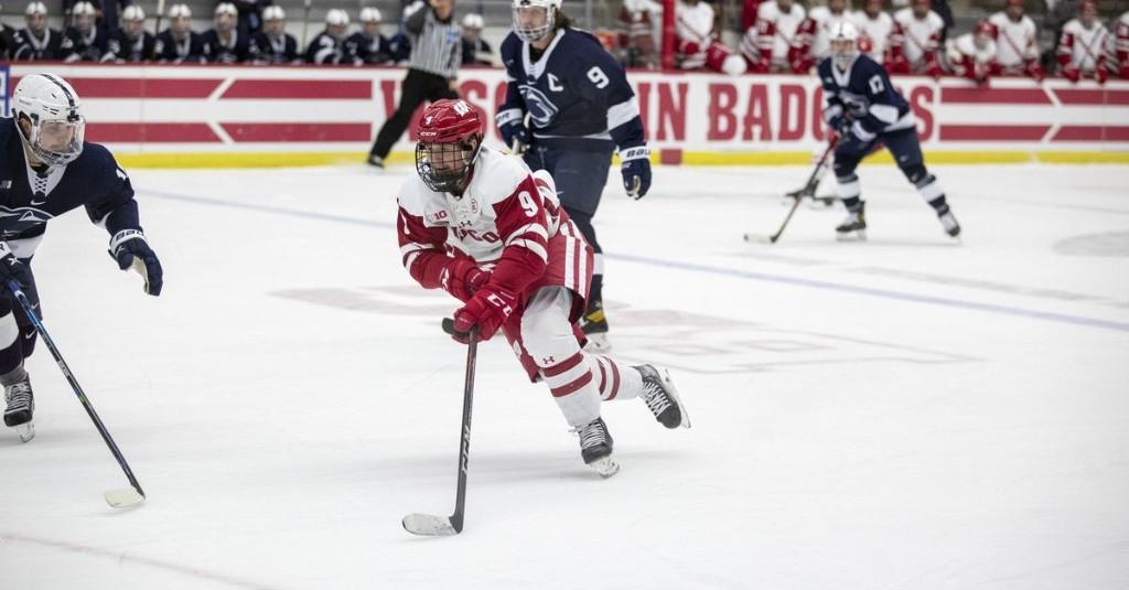 Wisconsin hockey: women's Border Battle postponed and Linus Weissbach wins award