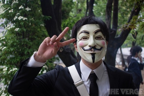Anonymous has reportedly been hacking US government computers for almost a year