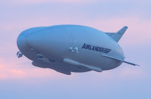 Hybrid Air Vehicles has grounded its 'flying bum' prototype airship