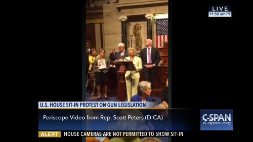 C-SPAN is using Periscope and Facebook Live to broadcast the House sit-in