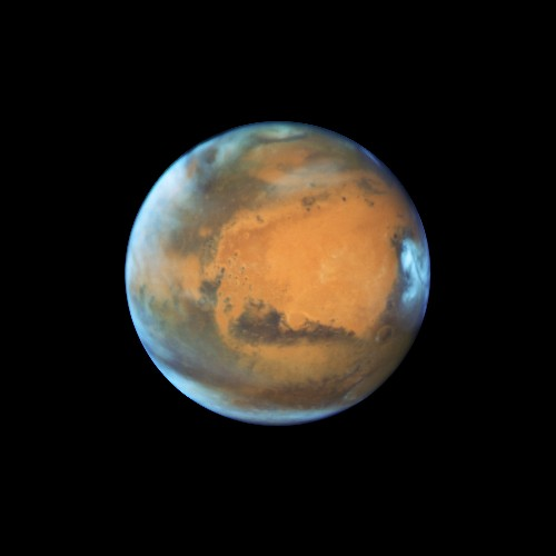 Hubble just captured one of the coolest photos of Mars ever taken