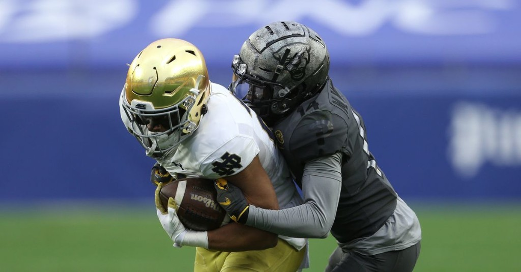 Pitt routed by Notre Dame in ugly 45-3 loss