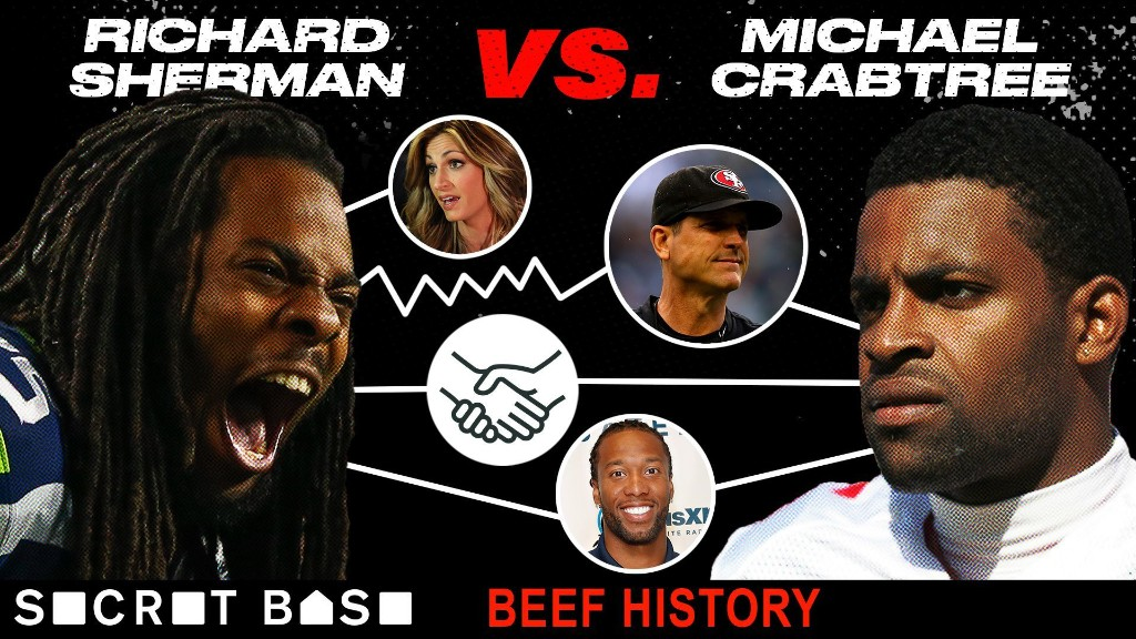 Richard Sherman and Michael Crabtree's mysterious beef