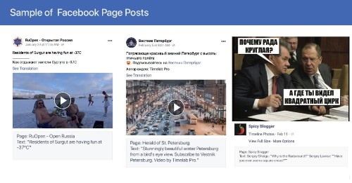 Facebook suspends 273 accounts and pages linked to Russian misinformation agency
