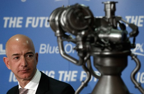 Jeff Bezos' Blue Origin plans to start taking tourists into space in 2018