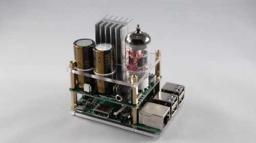 Raspberry Pi tube amp lets you use $1,300 headphones with your $35 computer