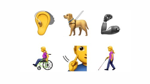 Why we need emoji representing people with disabilities