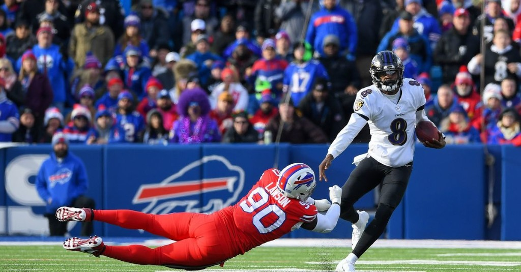 Lamar Jackson's 5 ridiculous plays from Ravens-Bills, ranked