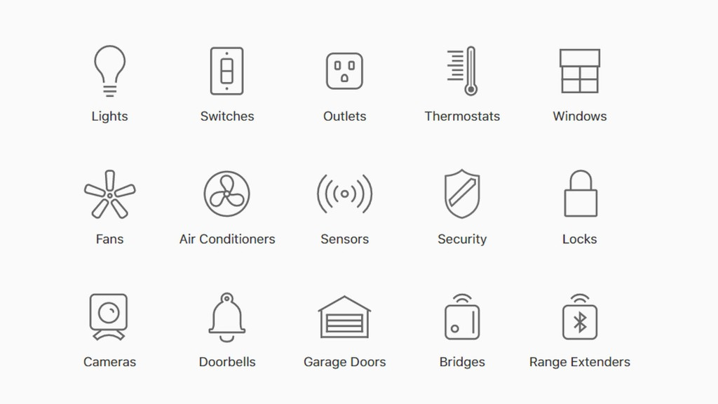 Apple's website now has a useful list of smart home gadgets that work with HomeKit
