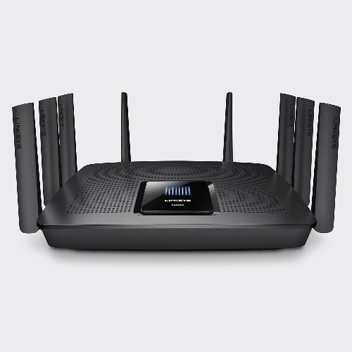 Linksys put tri-band, 5.3Gbps MU-MIMO into a $399 Wi-Fi router