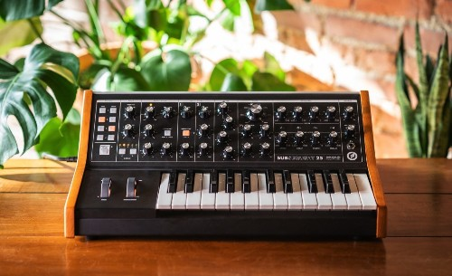 Moog's new synth promises big bass in a pint-sized machine