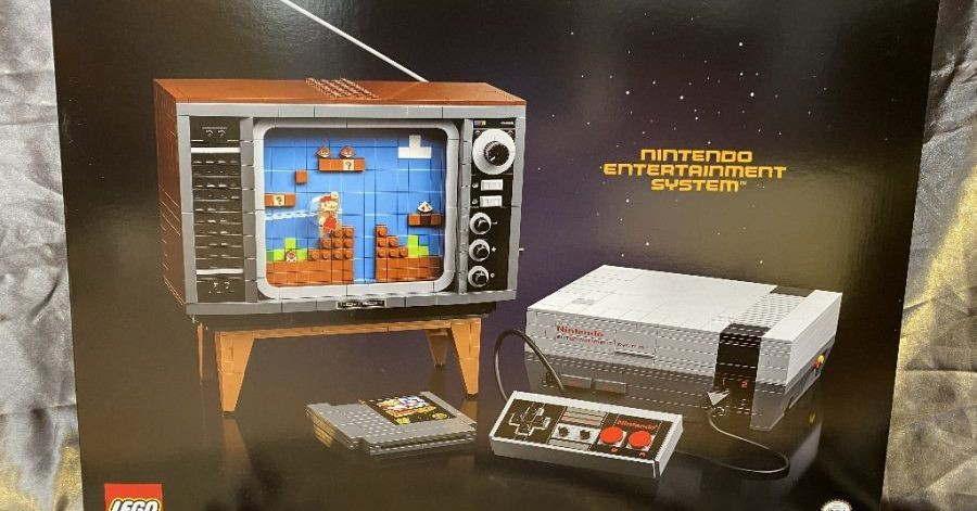 Lego and Nintendo are making a Lego NES