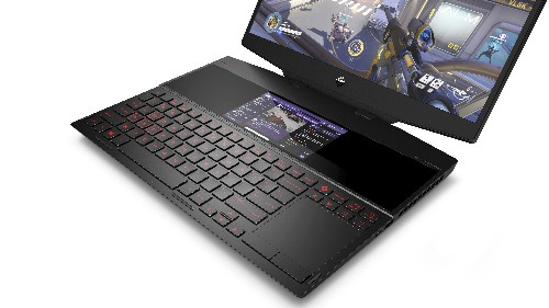 HP's new dual-screen gaming laptop lets you watch Twitch and play simultaneously